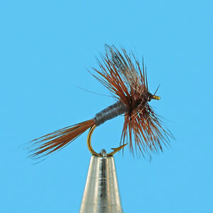 Adams Dry Premium Fly Fishing Flies One Dozen Sizes Available ***
