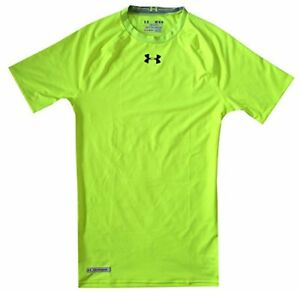 Under Armour Mens HeatGear Sonic Compression Short Sleeve M- Pick SZColor.