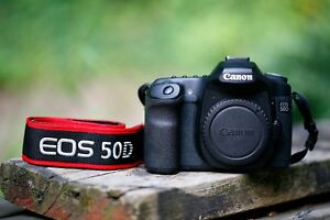 Canon EOS 50D Camera Body 9000 Clicks Strap 16 GB CF Magic Lantern Video