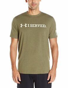Under Armour Apparel Mens Freedom I SERVED T-Shirt- Pick SZColor.
