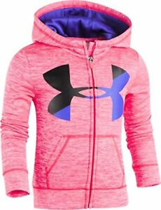 Under Armour Childrens Apparel Little Girls Bl Twist Fleece Hoody
