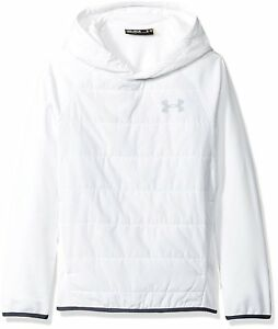 Under Armour Boys Storm Insulated Pullover Swacket WhiteWhite Youth Medium