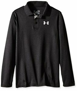 Under Armour Apparel Boys Match Play Long Sleeve Polo- Pick SZColor.