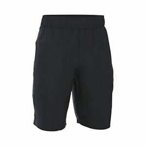 Under Armour Outdoors Boys Coastal Shorts BlackRhino Gray Youth