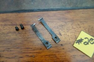 Winchester 1873 Vintage Finger Lever and Carrier Lever Springs W Screws
