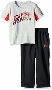 Under Armour Childrens Apparel Toddler Boys Short Sleeve Tee and