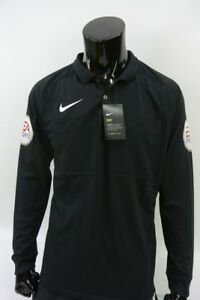 NIKE REFEREE Premier League Shirt Long Sleeve EA SPORTS Jersey SIZE L (ad