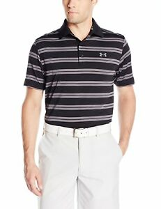 Under Armour Apparel Mens Groove Stripe Polo S- Pick SZColor.