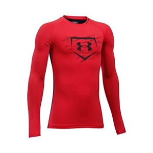 Under Armour Apparel Boys Diamond Long Sleeve Shirt- Pick SZColor.