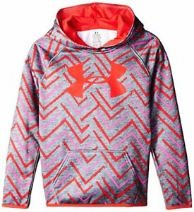 Under Armour Apparel Girls Fleece Printed Big Logo Hoodie- Pick SZColor.