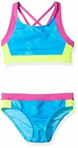 Under Armour Childrens Apparel Big Girls Bikini Oasis Meridian