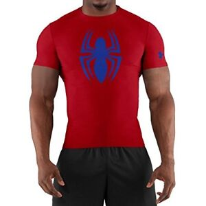 Under Armour Alter Ego Short Sleeve Compression T-Shirt - XX L Red