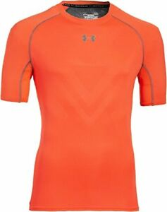 Under Armour Mens UA HeatGear ArmourVent Short Sleeve Compression Shirt X