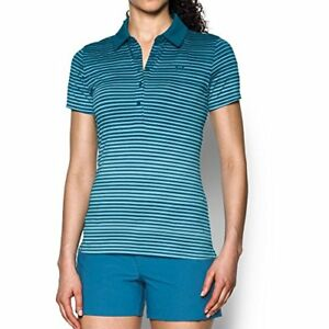 Under Armour Apparel Armor Womens Zinger Printed Polo- Pick SZColor.