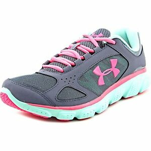 Under Armour UA GGS Assert V Youth US 7 Gray Sneakers- Pick SZColor.