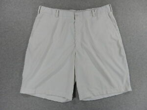 Nike Fit Dry Flat Front Casual Golf Shorts (Mens Size 40) White