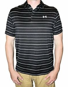 Under Armour UA Coldblack Par Stripe Golf Polo Shirt- Pick SZColor.