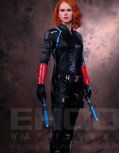 Life Size Black Widow Statue Scarlett Johansson Prop Display Marvel Style 1:1