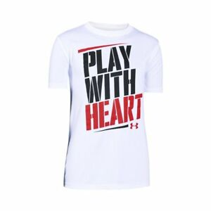 Under Armour UA Play W Heart Youth X-L White