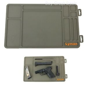 Lyman Products Essential Gun Maintenance Mat Oil Resistant Easy Clean - New