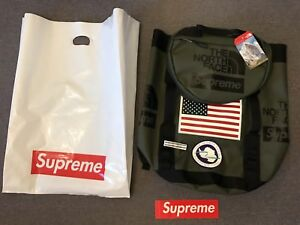 Supreme The North Face Trans Antarctica Expedition Big Haul Backpack Olive SS17