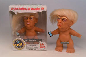 World#x27;s Greatest Trump Troll Doll Kickstarter by Chuck Williams President NEW