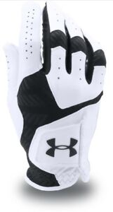 Under Armour UA CoolSwitch Golf Glove WhiteBlack Left Hand 2018 - 3 Pack