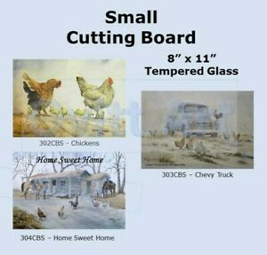 Small Cutting Boards - Western - Chevy Truck - Chickens -Horses  - Laurel Ovitt