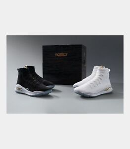 BRAND NEW- UNDER ARMOUR - CURRY 4 MORE RINGS CHAMPIONSHIP PACK - SZ 10.5 - CHAMP
