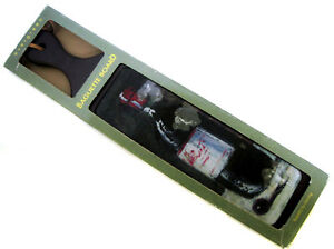 Baguette Cutting Board Wine Bottle Design Glass Surface Rubberwood Base