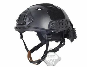 (Light Weight) FMA FAST Tactical Helmet-PJ Black For Airsoft Paintball TB818