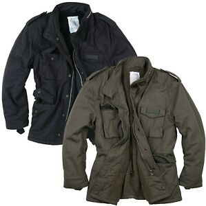 SURPLUS PARATROOPER WINTER JACKET MENS M65 ARMY MILITARY TACTICAL FIELD COAT