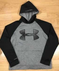 Under Armour Storm1 Hoodie Youth XL Gray And Black