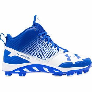 new youthboys 5.5 under armour spine heater tpumcs baseball molded cleats blue