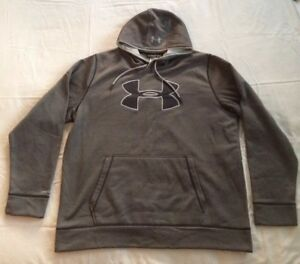 Under Armour 2XL Hoodie Mens Storm1 Cold Gear Pullover Sweatshirt