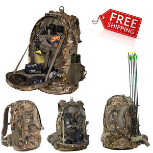 NEW Hunting Backpack Bow Archery Rifle Hiking Camping Gear Bag Tactical