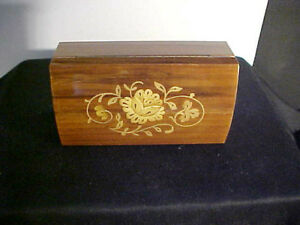 Reuge Swiss Musical Movement SORRENTO Wood Music Box Italy