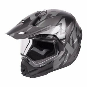 2018 FXR TORQUE X CORE HELMET WITH ELECTRIC SHIELD SNOWMOBILE- BLACK OPS