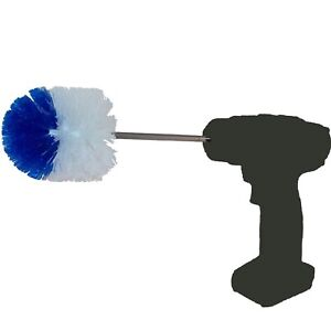 RotoScrub Extended Reach Drill Accessory Cleaning Brush