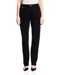 Lee WomensJuniors Womens Relaxed Fit Side Elastic Tapered Leg Jean