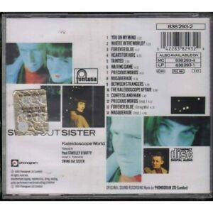 Swing out Sister CD Kaleidoscope World Fountains / ‎838 293-2 Sealed