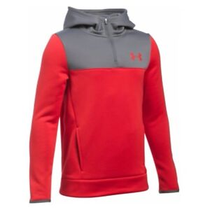 Under Armour Boys' Red Armour Fleece Storm ¼ Zip Hoody $29.95