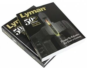 Lyman Reloading Handbook Manual Guide Softcover Cartridges Bullets 50th Edition