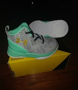 UNDER ARMOUR SC Steph Curry 2 Two Baby Boys Shoes NEW NIB size 5K Infant 1286153