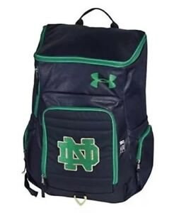 Under Armour Storm VX2 Notre Dame Undeniable Backpack XLarge Blue Green
