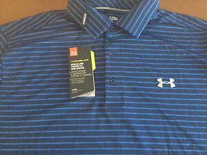 Under Armour Golf Coldblack men's loose fit polo shirt size XLNWTMSRP$69.99