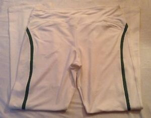 NEW Nike Golf Pants Fit Dry White CA 05553 FLAWS AS-IS Womens Sz XL (16-18) NWT