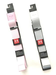 Under Armour Womens Printed Golf Belt Pink or Grey One Size. Msrp $24.99. NWT