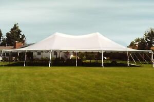 40x80' Sectional Canopy Pole Tent Heavy Duty Commercial Wedding Party Shelter