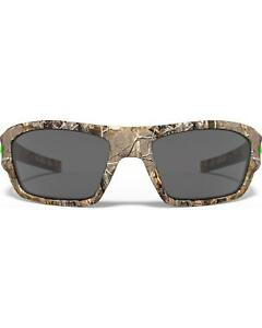 Under Armour Men's Satin Realtree Camo Force Sunglasses Camouflage